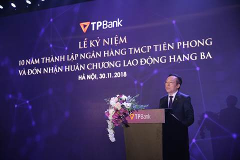 TPBank đón nhận Huân chương lao động Hạng Ba - Ảnh 1