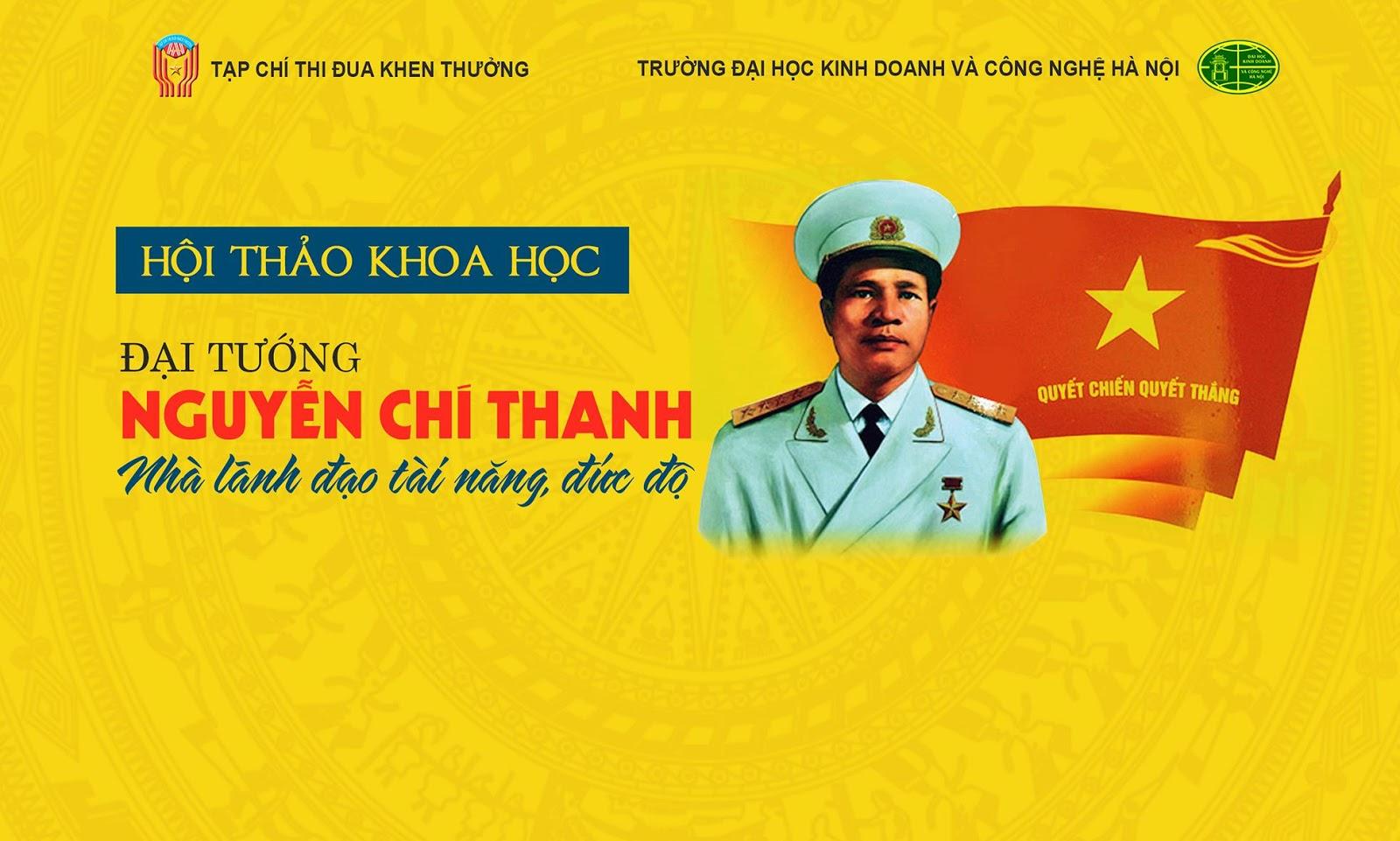 """Hội thảo khoa học """"Đại tướng Nguyễn Chí Thanh – Nhà lãnh đạo tài năng, đức độ"""" - Ảnh 1"""
