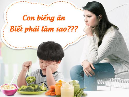 Thực đơn cho trẻ biếng ăn – ngon không cưỡng nổi - Ảnh 1