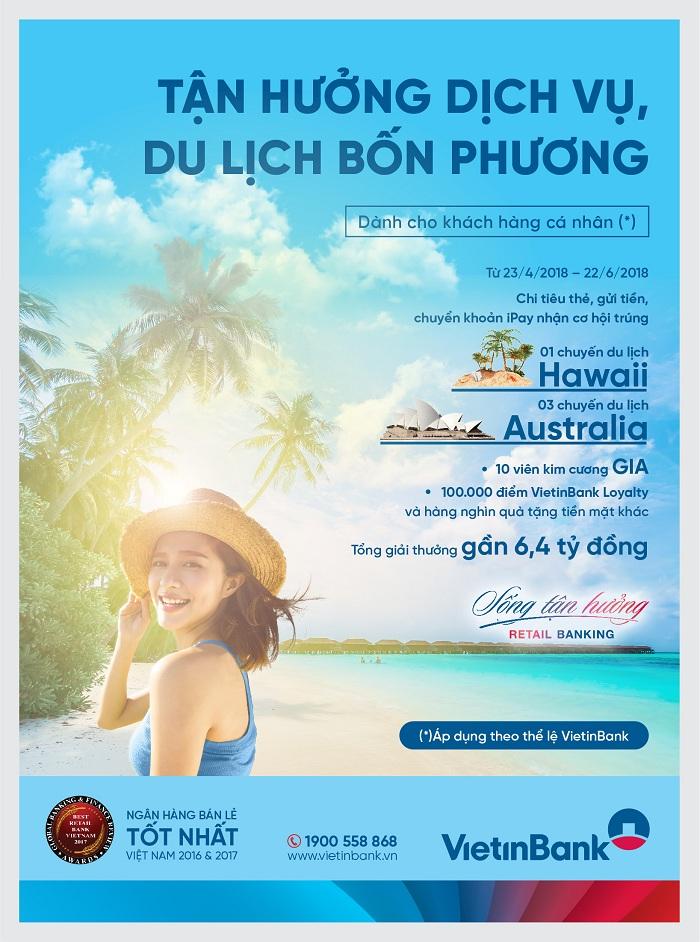 Hè rực rỡ với giải thưởng du lịch Hawaii đẳng cấp từ VietinBank - Ảnh 1