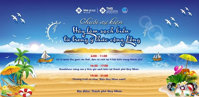 TMS Group: Hơn 1000 người ra quân làm sạch biển Quy Nhơn - Ảnh 1
