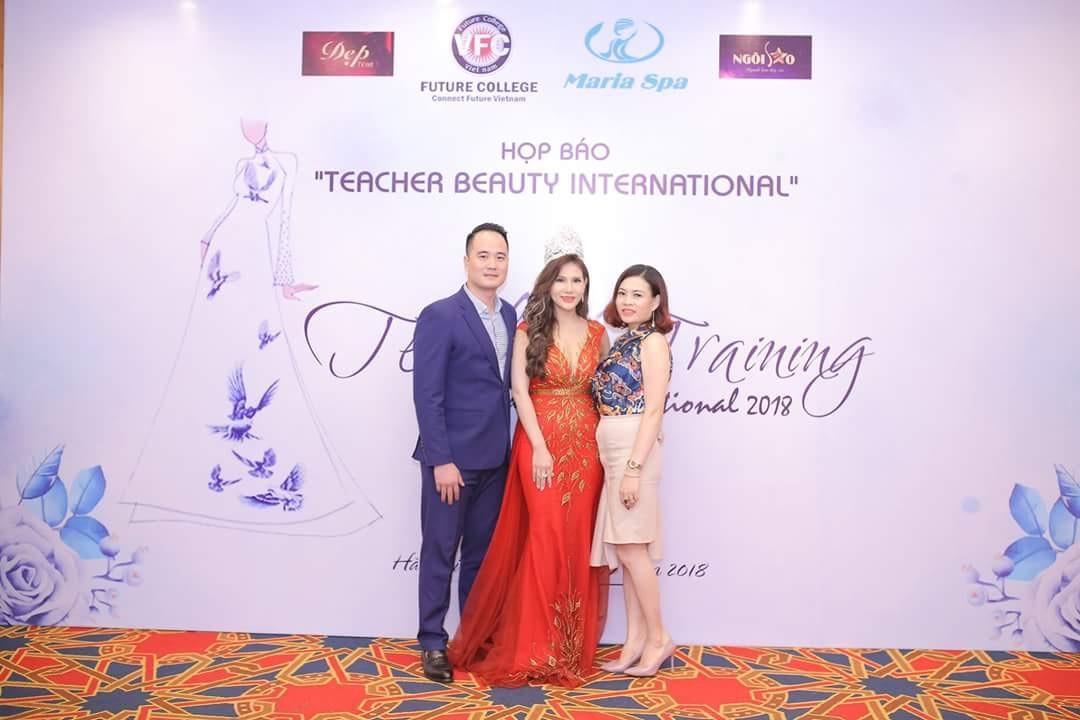 """Buổi họp báo phát động cuộc thi """"Teacher Beauty International"""" – Sự kiện ý nghĩa dành cho các giáo viên Tài sắc trong ngành làm đẹp - Ảnh 6"""