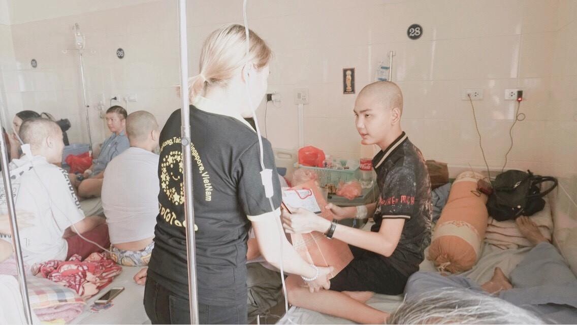 TocoToco đón Trung thu cùng các trẻ em tại khoa Nhi bệnh viện K Tân Triều - Ảnh 6