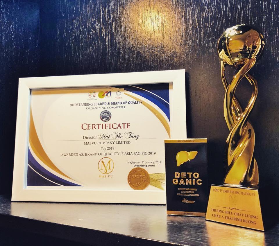 Công ty TNHH Thương mại Mai Vũ vinh dự nhận giải Cúp vàng Thương hiệu Chất lượng châu Á Thái Bình Dương - Ảnh 2