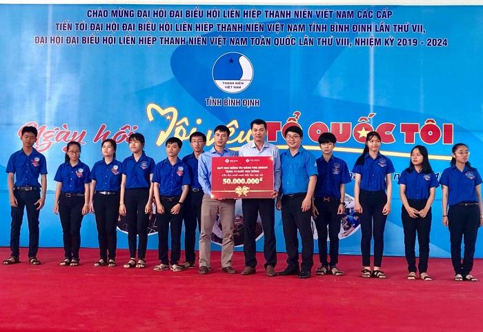 Quỹ học bổng tài năng TMS Group: Tặng học bổng trị giá 50 triệu cho học sinh vượt khó, học giỏi tại Bình Định - Ảnh 1