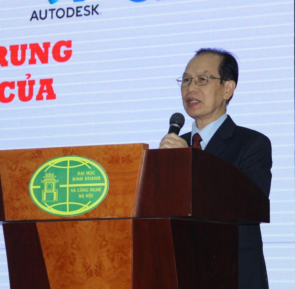 Lễ ký kết thành lập Trung tâm đào tạo ủy quyền của hãng Autodesk tại Trường Đại học Kinh doanh và Công nghệ Hà Nội - Ảnh 4