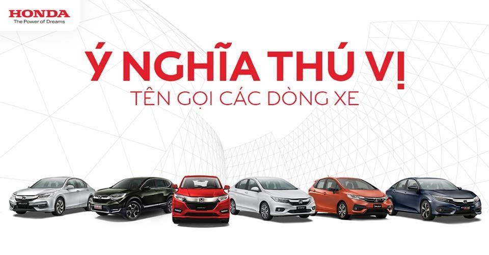Khám phá ý nghĩa tên gọi từng mẫu xe của Honda Việt Nam - Ảnh 1