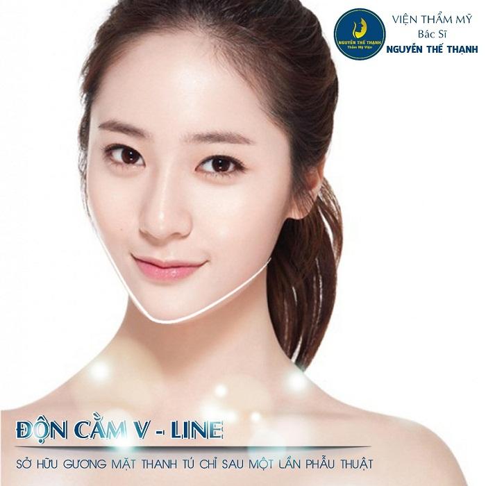 Độn cằm V-Line – Sở hữu gương mặt thanh tú chỉ sau một lần phẫu thuật  - Ảnh 1