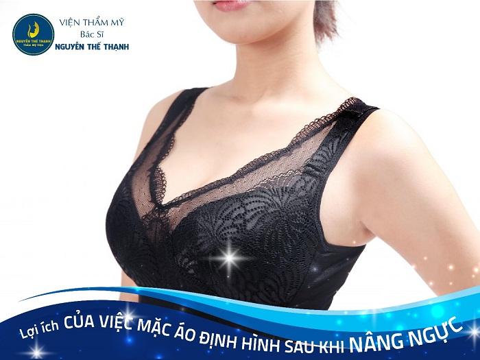 Lợi ích của việc mặc áo ngực định hình sau khi nâng ngực - Ảnh 1