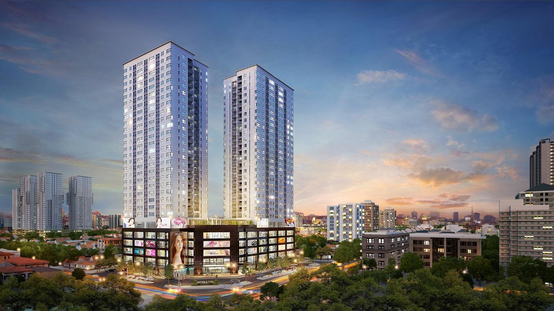 """Dự án """"nhà cao cửa rộng"""" tại đất vàng Thanh Xuân gấp rút hoàn thiện những hạng mục cuối - Ảnh 1"""