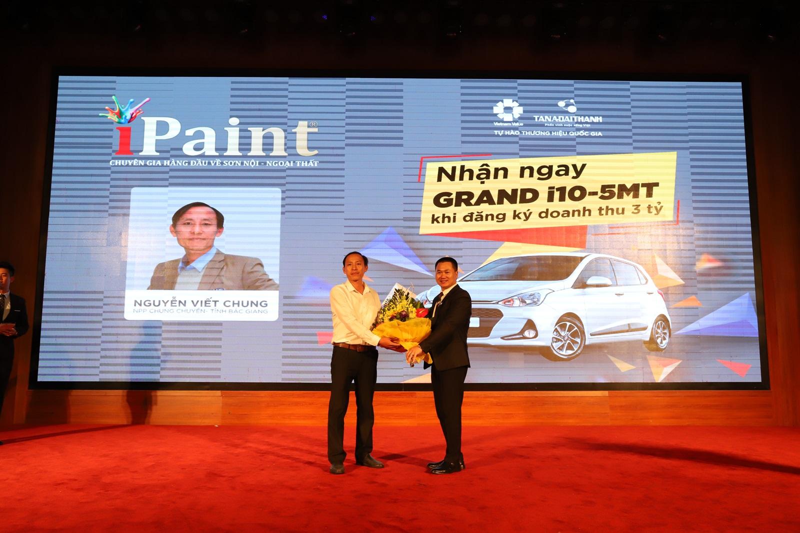 Nhận ngay Huyndai Grand i10 khi mua sơn iPaint - Ảnh 3