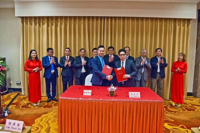 Macca Nutrition Việt Nam kí kết bản ghi nhớ kết nối, hợp tác thương mại với Tập đoàn Hoa Thần Long Đức  - Ảnh 2