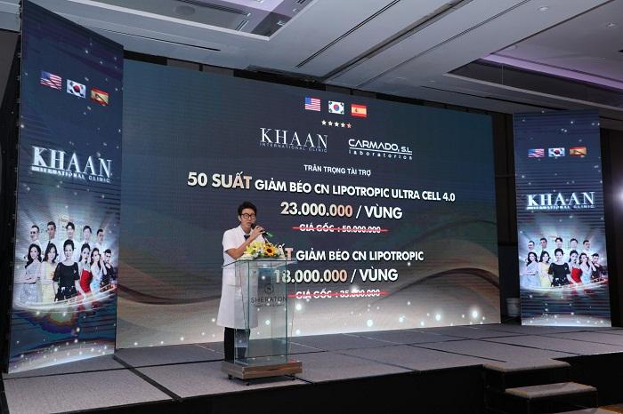 Thẩm mỹ Quốc tế Khaan tổ chức thành công Hội thảo ra mắt CN giảm béo không xâm lấn mới nhất 2020 - Ảnh 5