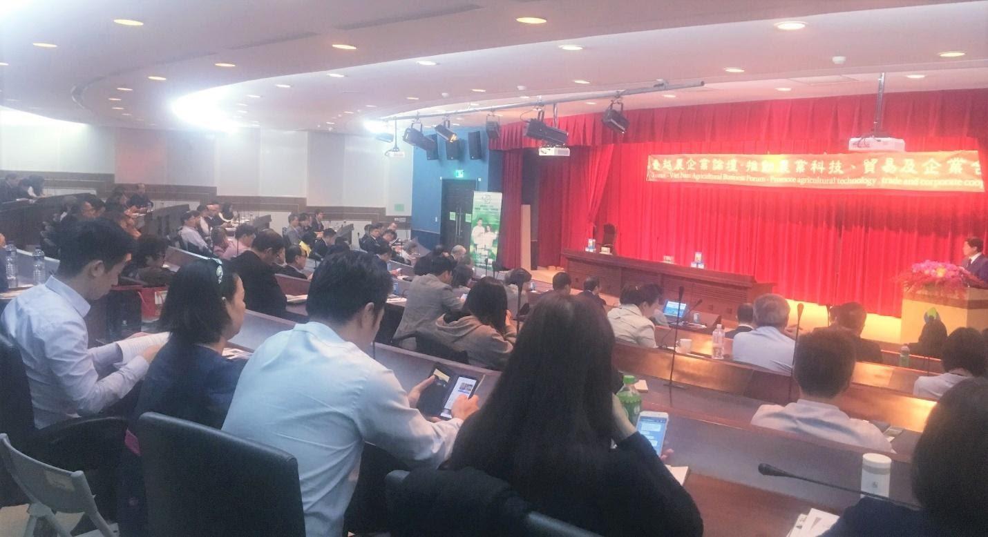Macca Nutrition tham dự Diễn đàn Doanh nghiệp Việt Nam - Đài Loan lần thứ 13  - Ảnh 1