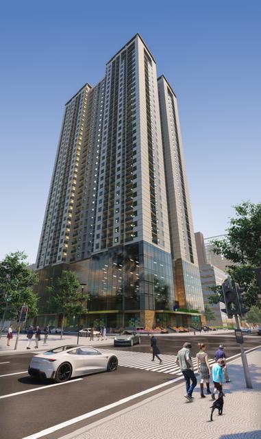 Chỉ 1,5 tỷ sở hữu căn hộ 2 phòng ngủ trung tâm hành chính quận Hà Đông  - Ảnh 1