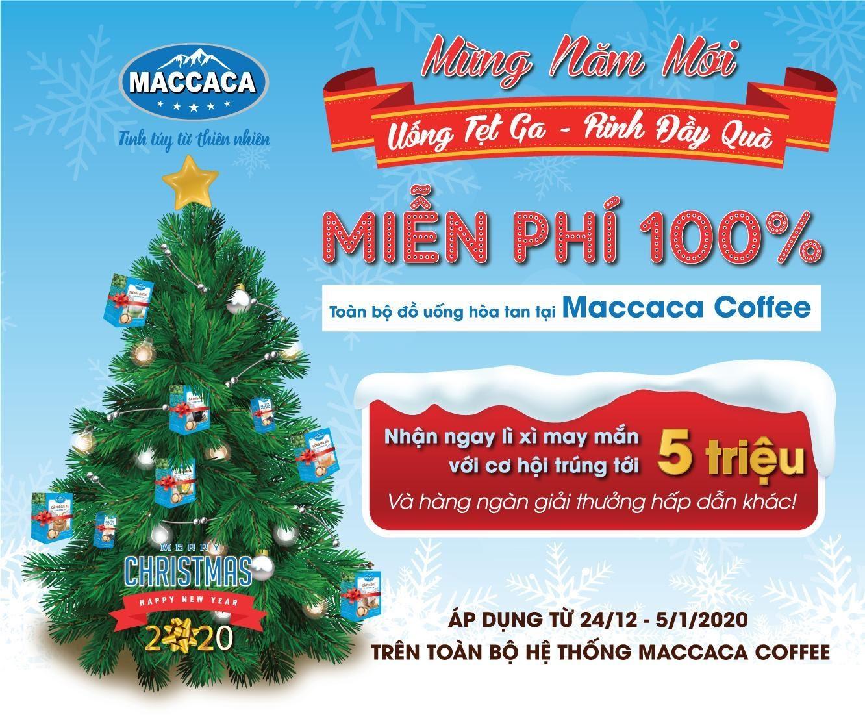"""Maccaca Coffee khuyến mãi """"khủng"""" - Uống tẹt ga, rinh đầy quà  - Ảnh 3"""