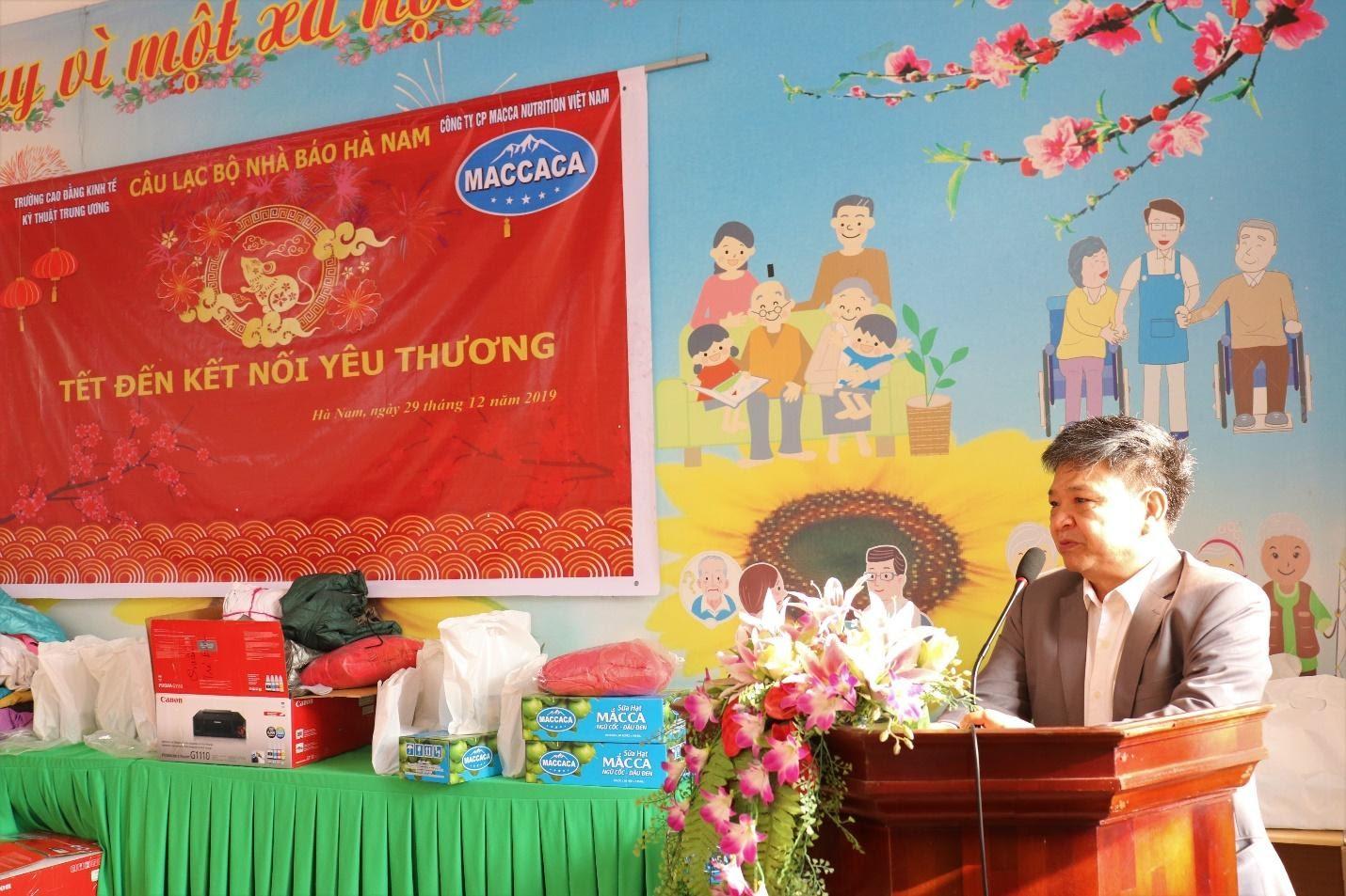 Công ty Macca Nutrition tổ chức thăm và tặng quà tại Trung tâm công tác xã hội tỉnh Hà Nam - Ảnh 2