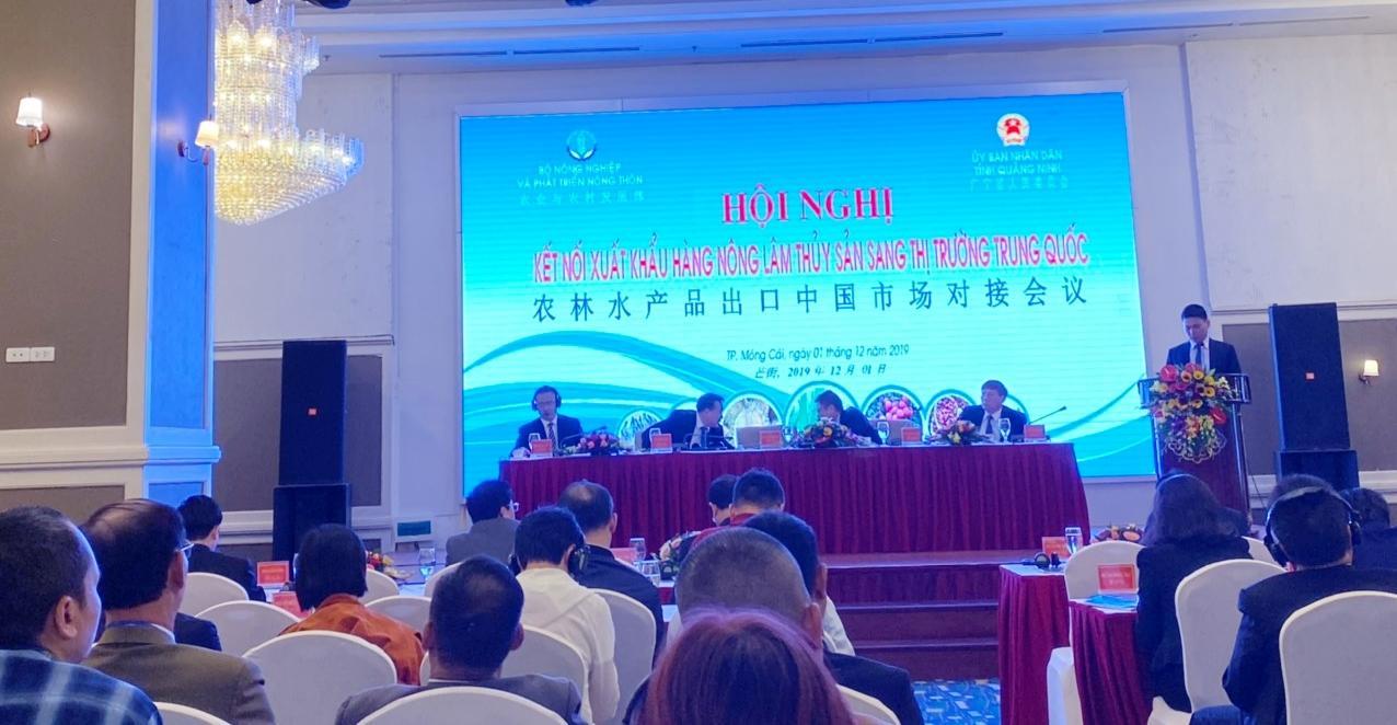 Macca Nutrition tham dự Hội nghị kết nối xuất khẩu hàng nông, lâm, thủy sản sang thị trường Trung Quốc - Ảnh 1