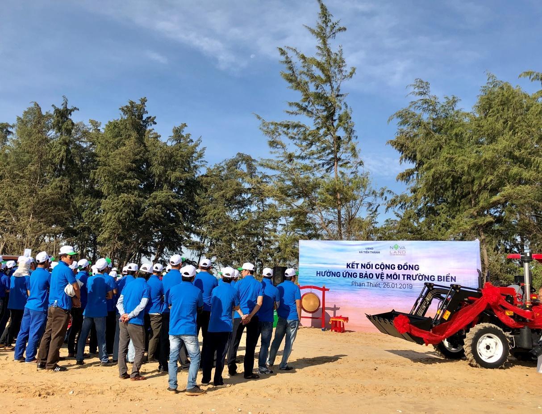 Tập đoàn Novaland góp phần gìn giữ môi trường sinh thái biển tại Phan Thiết - Bình Thuận - Ảnh 1
