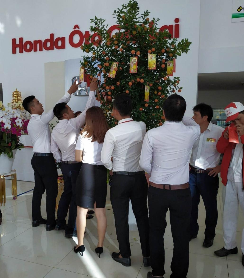"""Honda Ôtô Gia Lai – Rộn ràng """"khai lộc đầu xuân"""" năm Kỷ Hợi - Ảnh 2"""