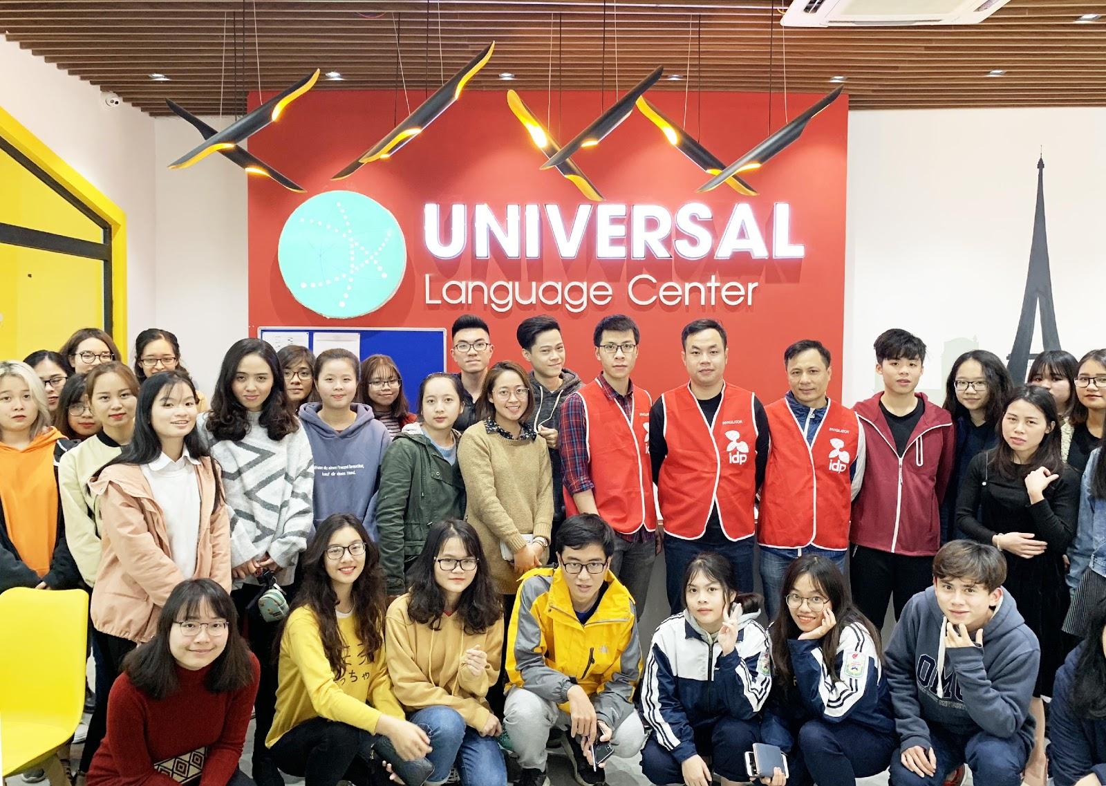 Trải nghiệm một ngày học IELTS tại Universal Language Center - Ảnh 1