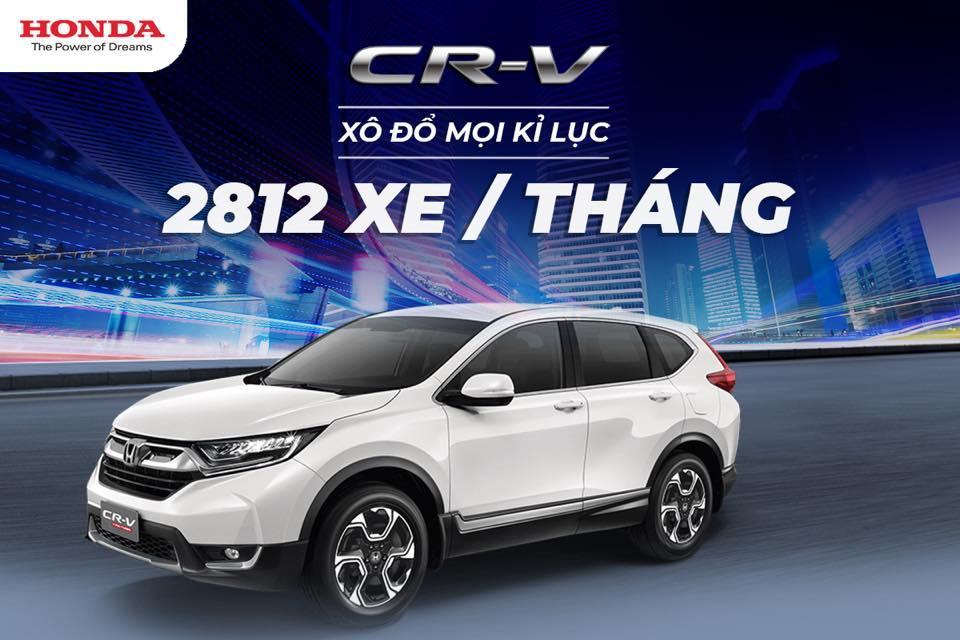 Honda CRV - Xô đổ mọi kỷ lục doanh số với 2.812 xe trong tháng 1/2019 - Ảnh 1