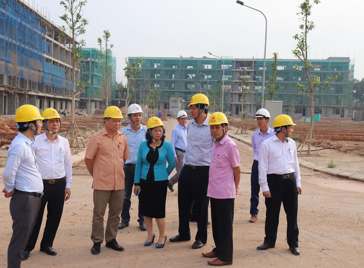 Đoàn đại biểu Quốc hội tỉnh Vĩnh Phúc đến thăm dự án TMS Grand City Phuc Yen - Ảnh 3