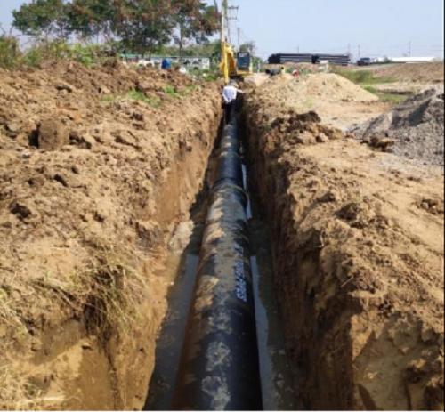 Xinxing hướng dẫn lắp đặt thi công ống gang cầu tại Chiang Mai Thái Lan - Ảnh 2