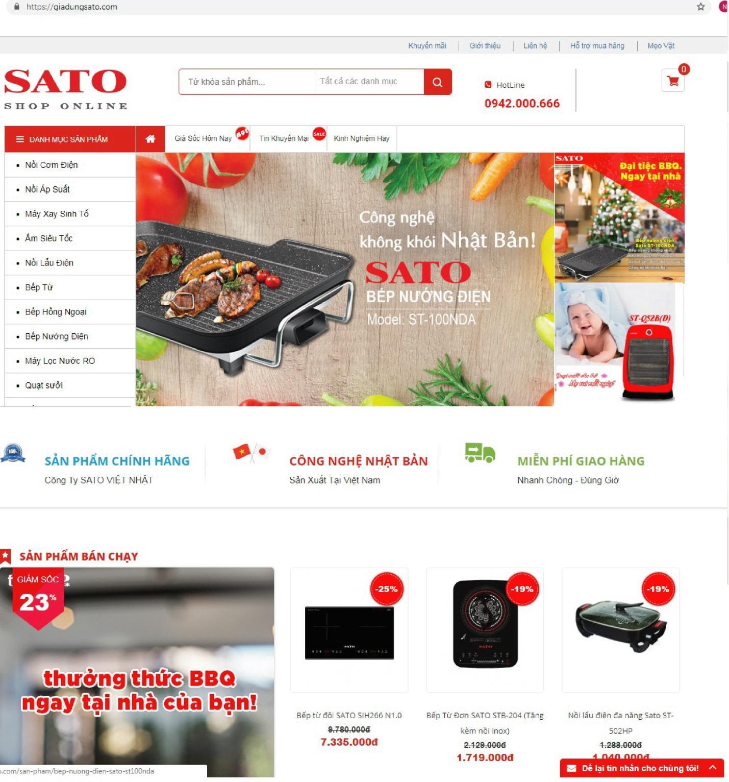 Nhận ngay gift code giảm giá 10% khi kết nối với Sato qua facebook - Ảnh 3