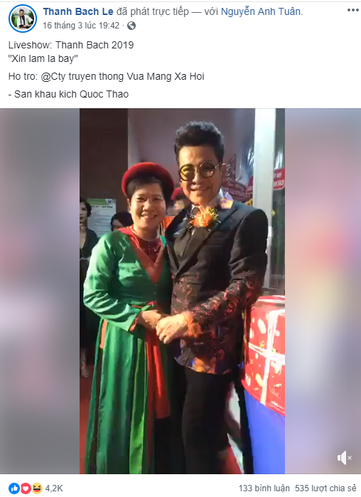 Ông trùm mạng xã hội A Tuân xuất hiện trong liveshow Thanh Bạch: Xin làm lá bay - Ảnh 5