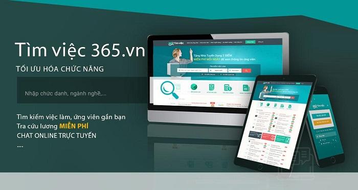 Timviec365.vn - địa chỉ tạo CV xin việc online chuyên nghiệp - Ảnh 2