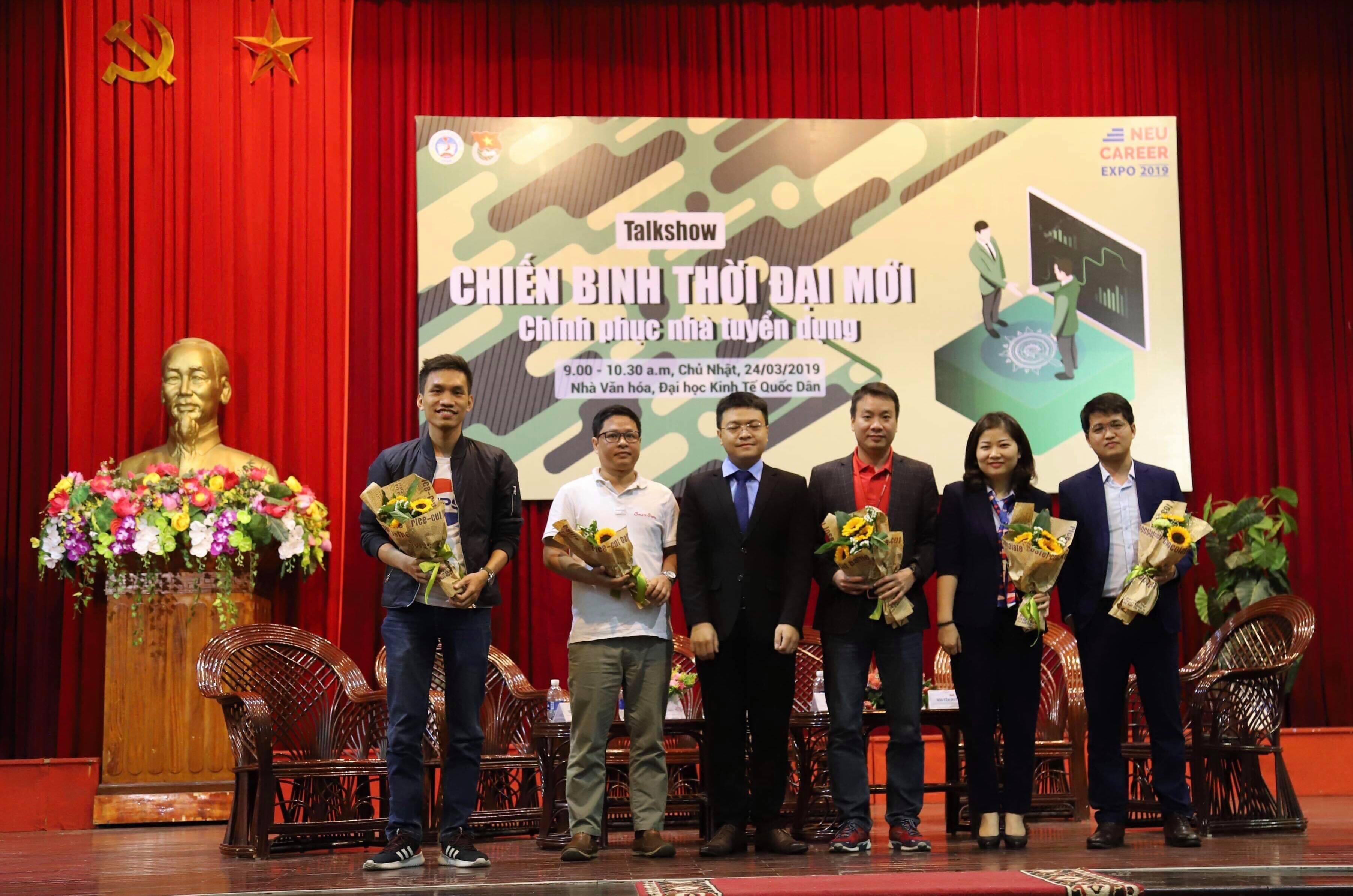 Tân Á Đại Thành mang đến nhiều cơ hội việc làm tại NEU CAREER EXPO 2019 - Ảnh 2