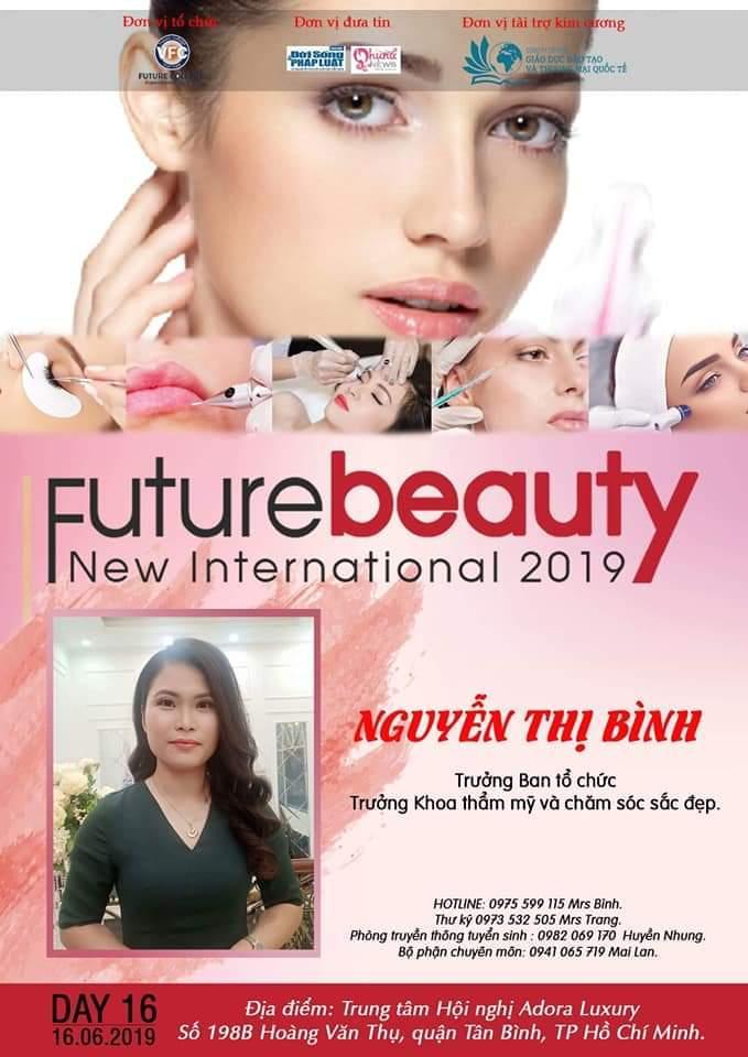 Cuộc thi Future Beauty New International 2019 Tôn vinh các thương hiệu làm đẹp trên cả nước - Ảnh 2