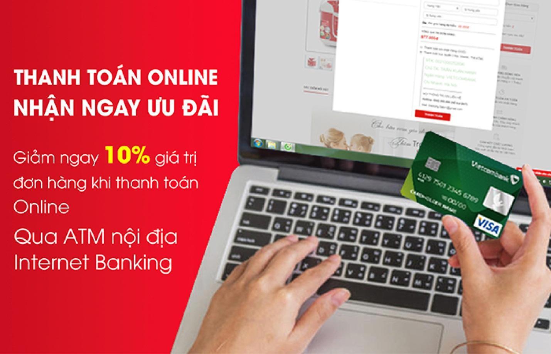 Giảm ngay 10% khi mua hàng và thanh toán online tại giadungsato.com  - Ảnh 1