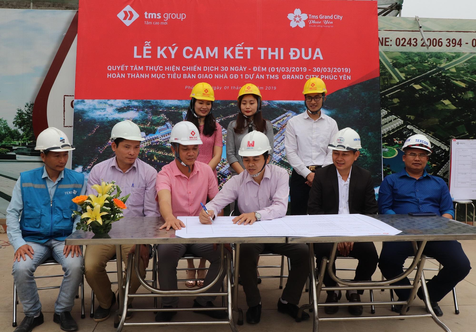 Tập đoàn TMS: Nỗ lực cán đích bàn giao nhà giai đoạn 1 TMS Grand City Phuc Yen - Ảnh 3
