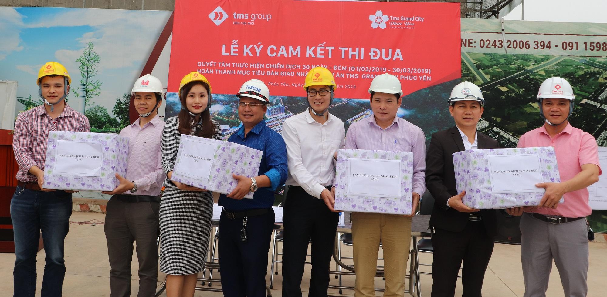 Tập đoàn TMS: Nỗ lực cán đích bàn giao nhà giai đoạn 1 TMS Grand City Phuc Yen - Ảnh 4