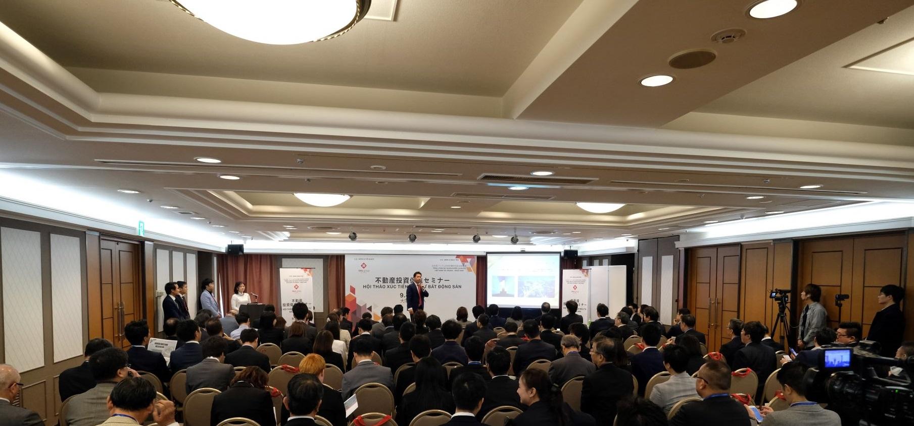Các dự án BĐS của Tập đoàn TMS thu hút nhà đầu tư Osaka, Nhật Bản - Ảnh 1