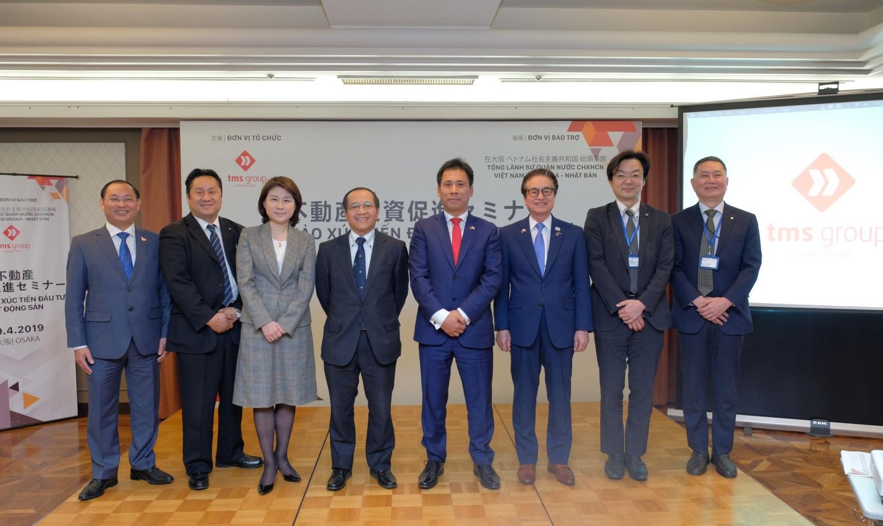 Các dự án BĐS của Tập đoàn TMS thu hút nhà đầu tư Osaka, Nhật Bản - Ảnh 6