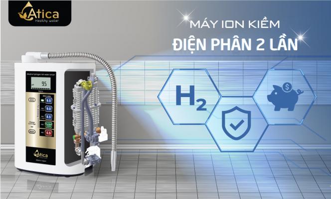Sử dụng máy tạo nước ion kiềm giàu hydro Atica có an toàn không? - Ảnh 2