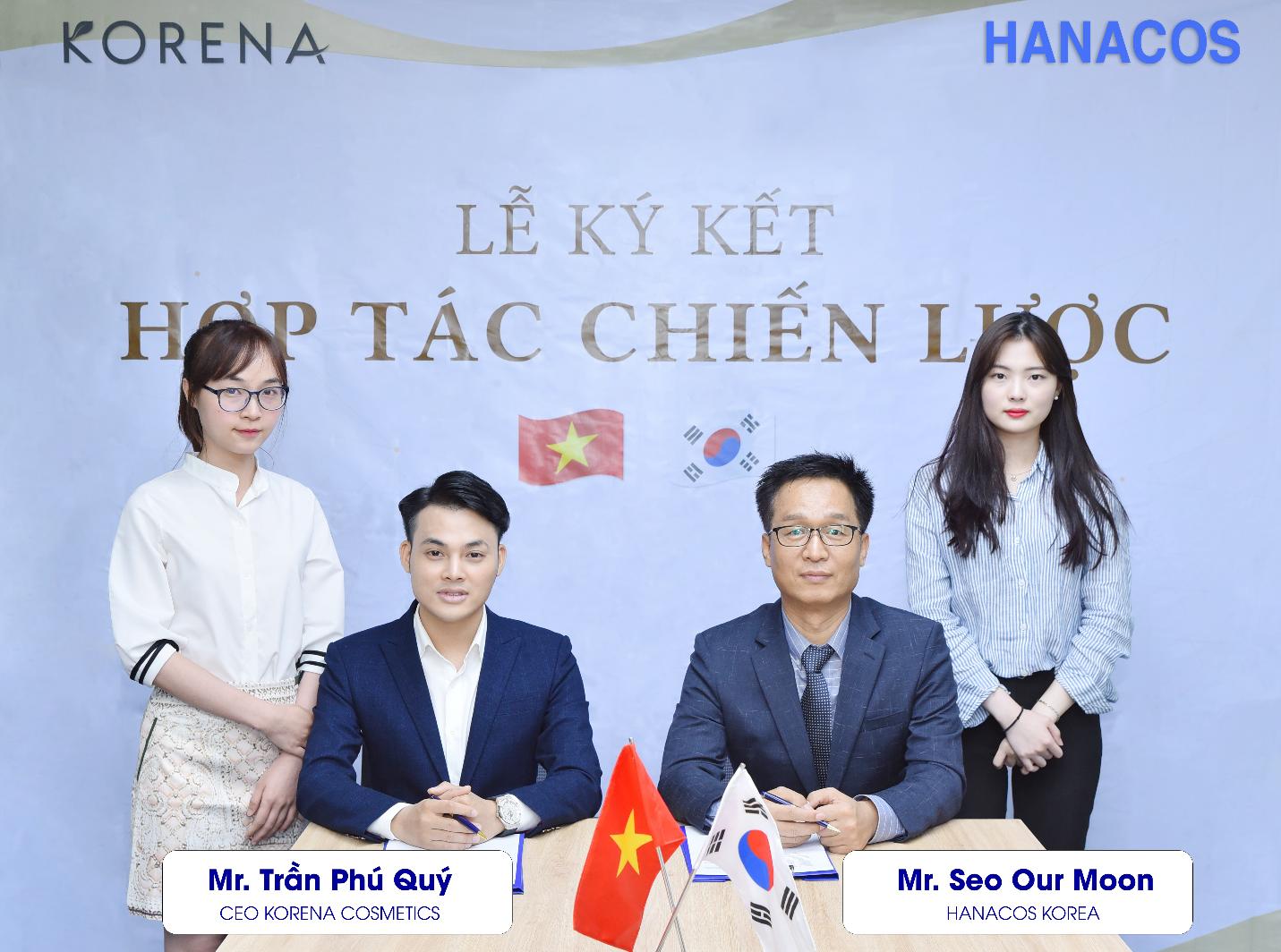 Mỹ phẩm Korena ký kết hợp tác chiến lược với đối tác Hanacos Hàn Quốc - Ảnh 1