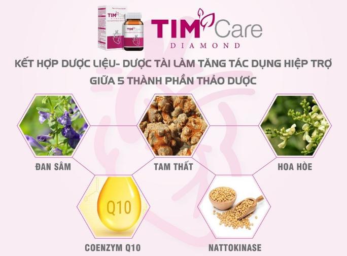TIM Care Diamond sử dụng đúng cách để đạt hiệu quả cao - Ảnh 1