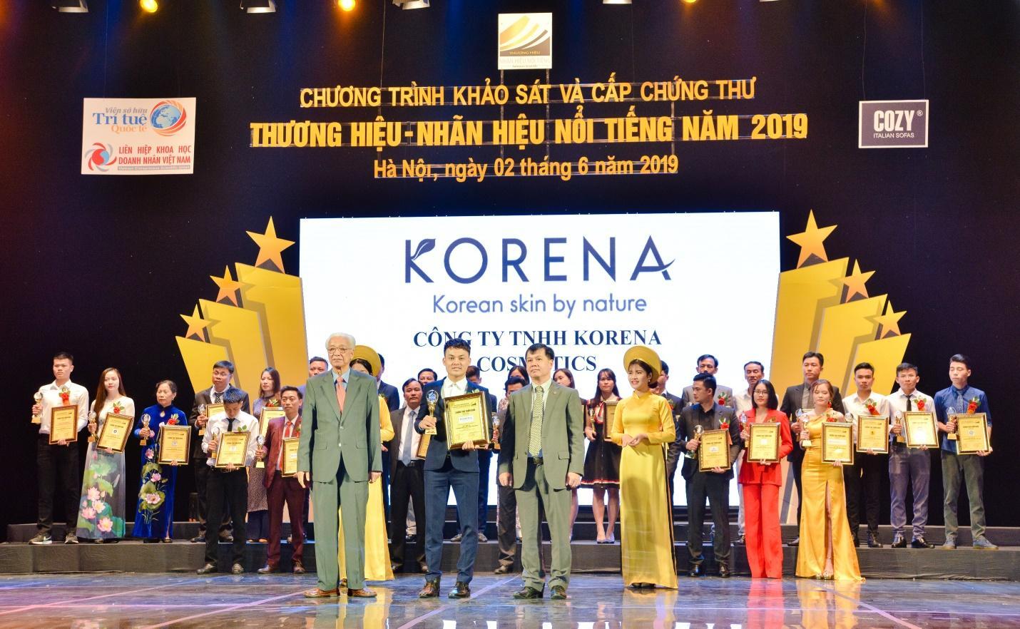 Mỹ phẩm Korena lên sóng đài truyền hình VTC6 tại sự kiện trao giải Thương Hiệu - Nhãn Hiệu Nổi Tiếng 2019 - Ảnh 4