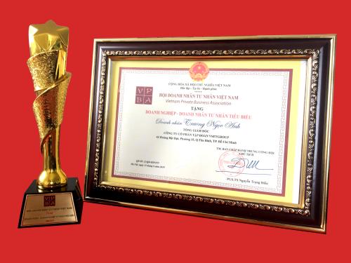 Chủ tịch Tập đoàn Vsetgroup nhận danh hiệu doanh nhân tiêu biểu  - Ảnh 1