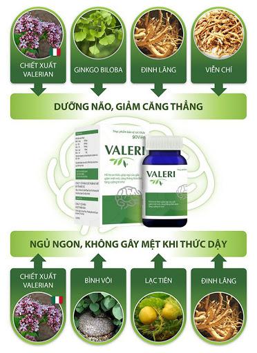 Valeri - Ngủ ngon, dưỡng não, giảm stress - Ảnh 2
