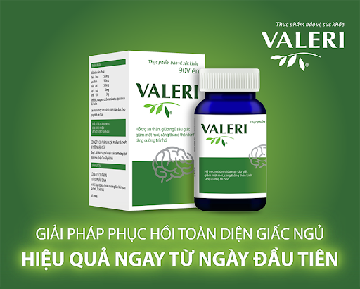 Valeri - Ngủ ngon, dưỡng não, giảm stress - Ảnh 3