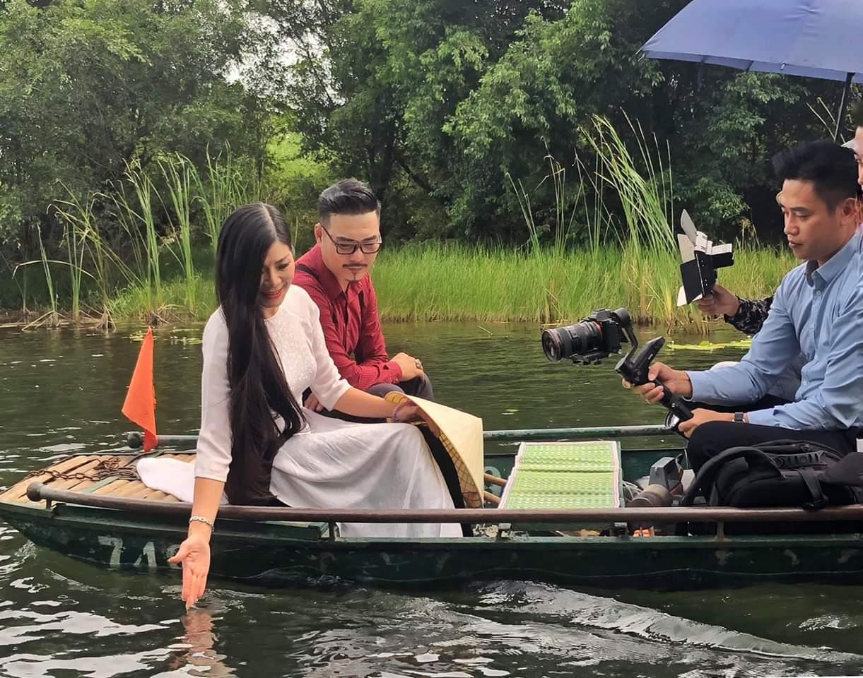 Nhận lời tham gia MV của nghệ sĩ Quốc Quốc, Á hậu- Doanh nhân Mai Vũ bật mí lý do lần đầu đóng MV - Ảnh 1