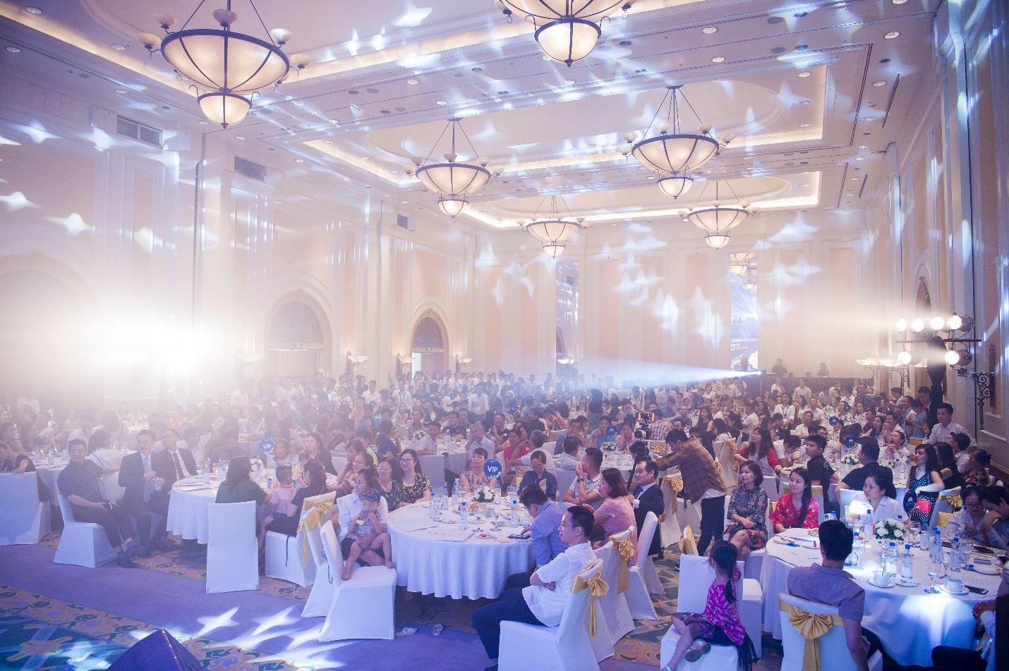 """Sự kiện ra mắt dự án Stellar Garden - """"Tỏa sáng vì tinh tú"""" thu hút hơn 400 khách tham dự - Ảnh 1"""