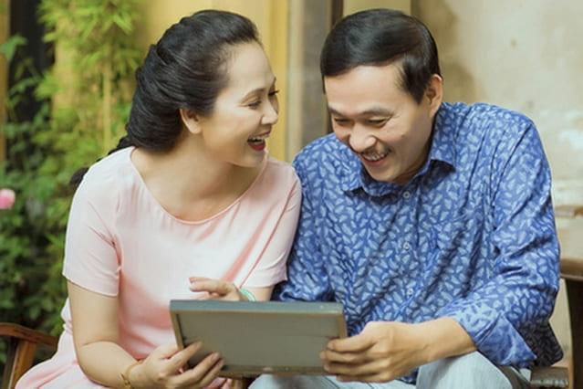 NSND Lan Hương và bí kíp giữ gìn hạnh phúc gia đình kéo dài hơn 3 thập kỷ  - Ảnh 4
