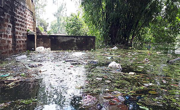 """Người dân ngoại thành Hà Nội bị bủa vây trong """"lũ rác"""" - Ảnh 11"""