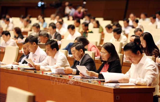 Hôm nay 24/10, bắt đầu lấy phiếu tín nhiệm chức danh do Quốc hội bầu hoặc phê chuẩn - Ảnh 1